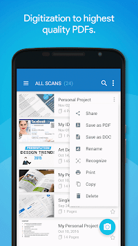 Quick PDF Scanner FREE APK screenshot thumbnail 6