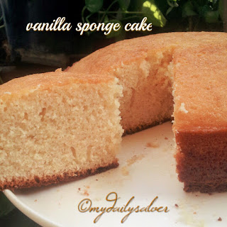 Vanilla Sponge Cake Lemon Recipes
