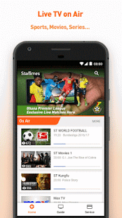 StarTimes - Live TV & Football APK for Kindle Fire