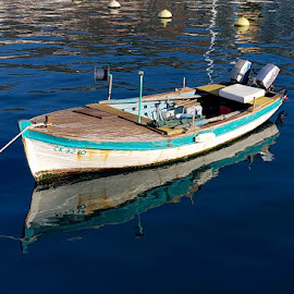 Wooden Boat, Selce, Croatia by Dražen Komadina - Transportation Boats ( selce, dražen komadina, croatia, wooden boat )