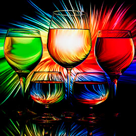 The Blast by Rakesh Syal - Artistic Objects Glass