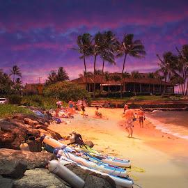 Scuba Diving Kauai by Dennis Begnoche - Sports & Fitness Swimming ( kauai, scuba, hawaii, swimming, photography )
