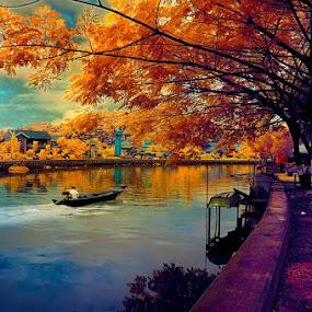 Sungai Karang Mumus by Daniel Chang - Landscapes Travel ( fall, color, colorful, nature )