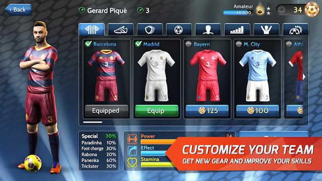 Final Kick: Online Football APK screenshot thumbnail 9