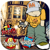 App Cheerful Graffiti Street Theme APK for Windows Phone