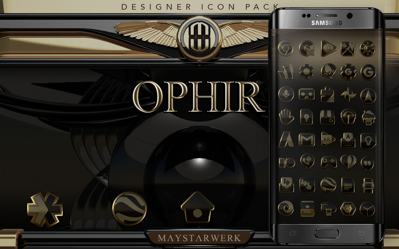 Ophir HD Icon Pack Screenshot 7