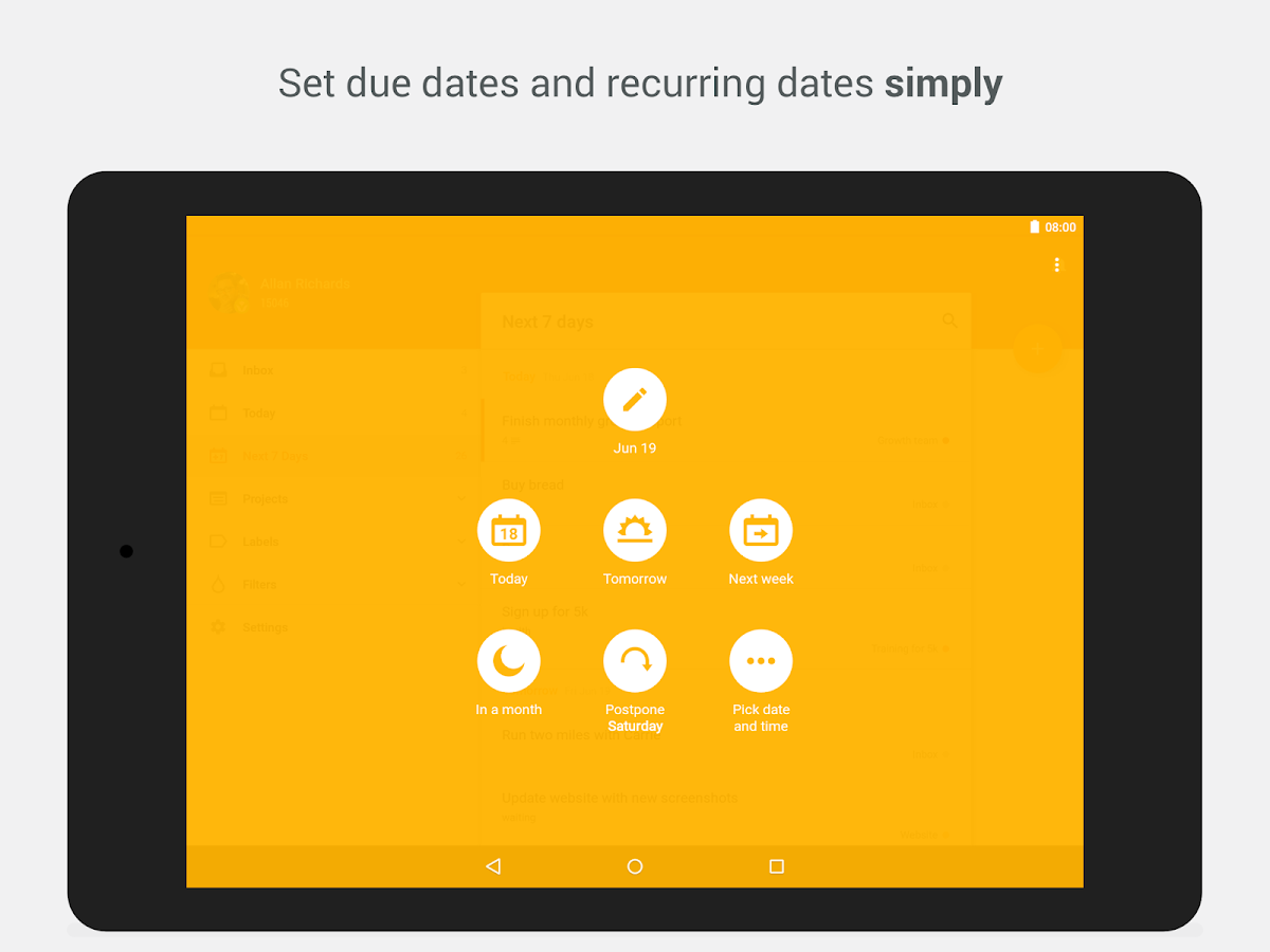 Todoist: To-Do List, Task List Screenshot 8