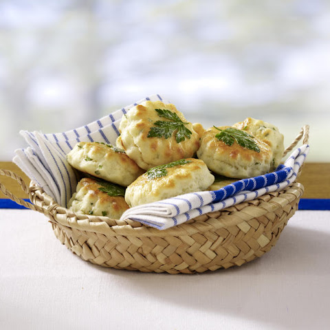 Buttermilk Biscuits with Chives and Parmesan