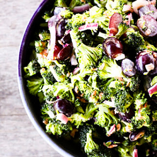 Light Marinated Broccoli Salad | Make Ahead Mondays