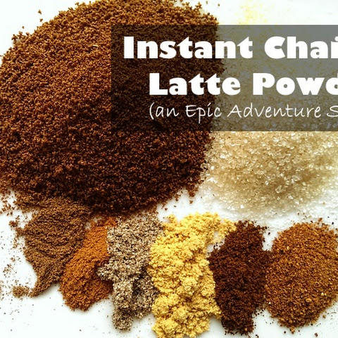 Instant Chai Tea Latte Powder