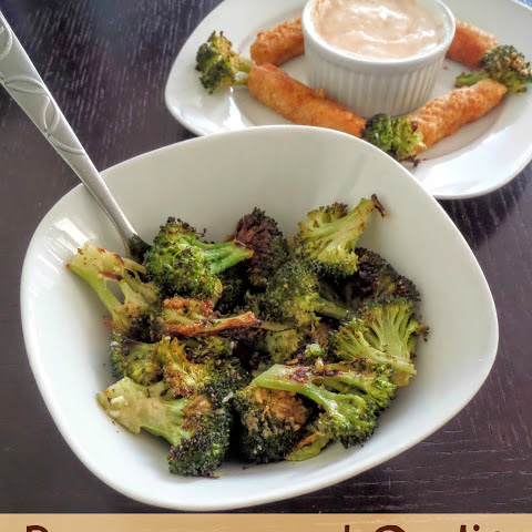 Parmesan and Garlic Roasted Broccoli