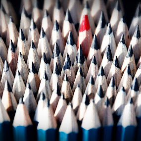 Stand Up by Ro Ducay - Artistic Objects Other Objects ( art work, school, pencils, supplies )