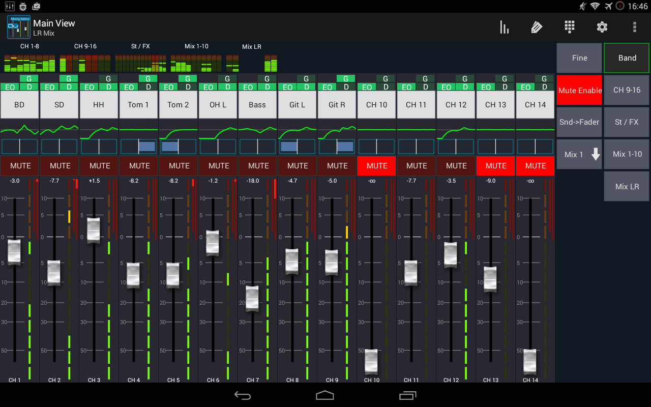 Mixing Station Qu Pro Screenshot 3