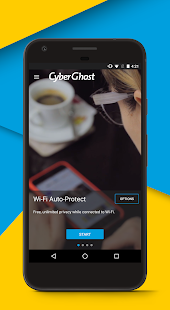 App CyberGhost VPN apk for kindle fire