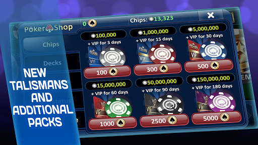 Poker - screenshot