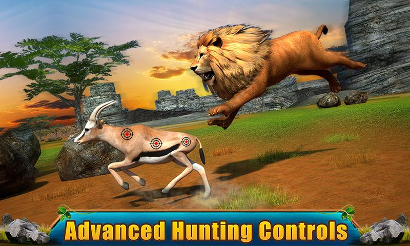 Ultimate Lion Adventure 3D Screenshot 1