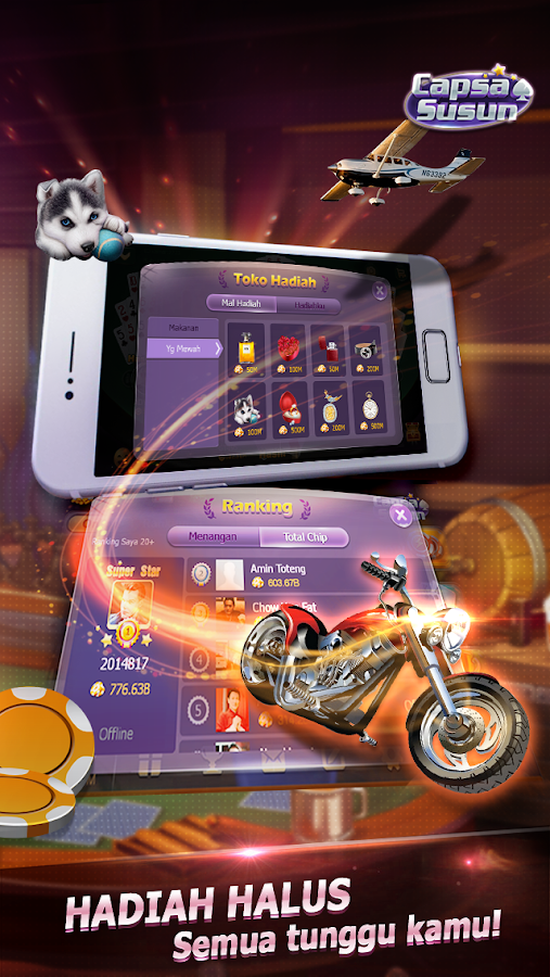 Capsa Susun(Free Poker Casino) Screenshot 13