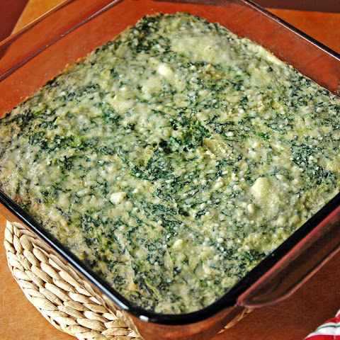 Creamed Spinach and Artichoke Casserole