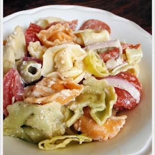 Pasta Salad Salami Artichoke Recipes