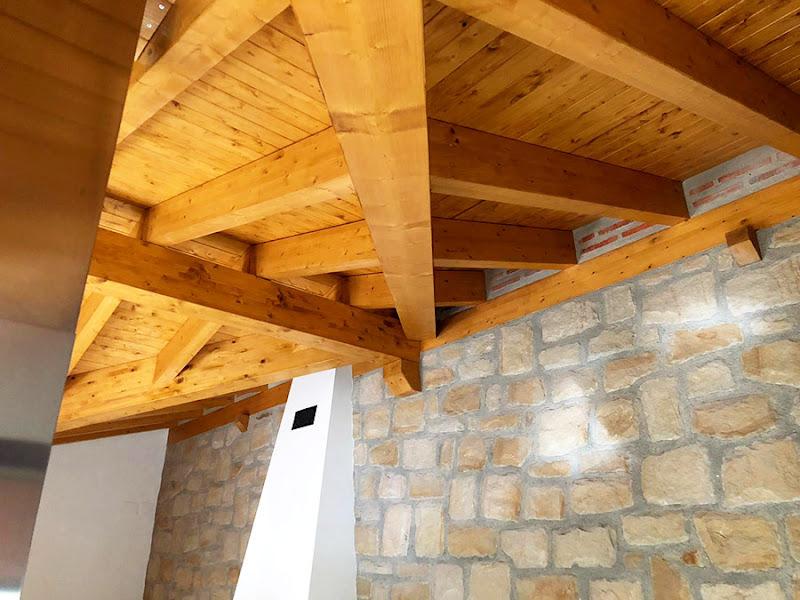 Tejado Iñigo Trápaga Estructuras y Carpintería