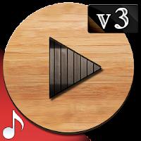Poweramp v3 skin wood on PC (Windows & Mac)