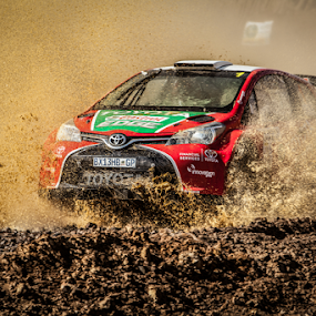 Splash03 by Johan Niemand - Sports & Fitness Motorsports ( water, car, rally, mud, splash, drive, race )