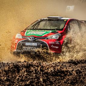 Splash03 by Johan Niemand - Sports & Fitness Motorsports ( water, car, rally, mud, splash, drive, race )