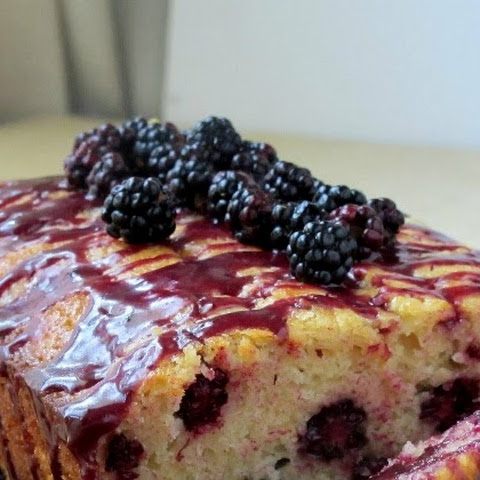 Wild Blackberry Bread