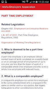 Malta Employer's Association - screenshot