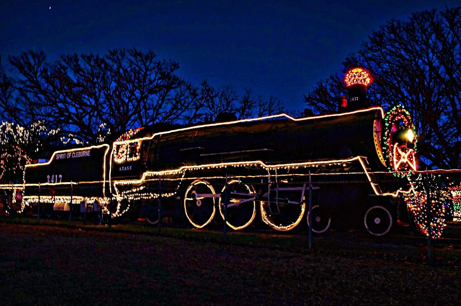 ----------The Christmas Train---------- by Neal Hatcher - Transportation Trains (  )
