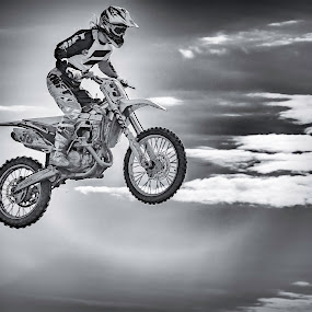 Flying angel by Patricia Konyha - Sports & Fitness Motorsports ( motocross, 2016,  )