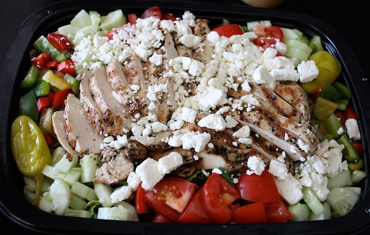 Greek Grilled Chicken Salad Recipe   Yummly