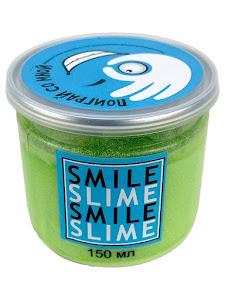 Слайм-лизун Cмузи зеленый, 150 мл.
