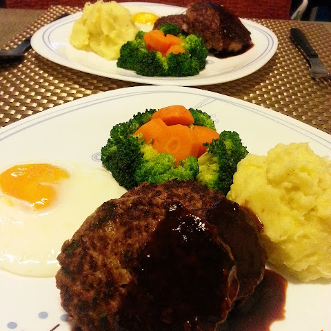 Japanese Hamburg Steak (Hambagu)