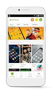 App GO Launcher - Free Themes & HD Wallpapers APK for Kindle