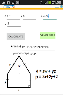 Area, Perimeter, Circumference - screenshot