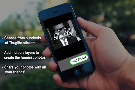Thuglife Photo Maker -Stickers - screenshot