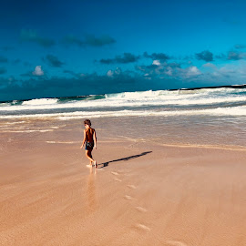 Steps on the beach by Zuzana Kapolkova - Instagram & Mobile iPhone