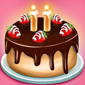 Cake Shop  Great Pastries & Waffles cooking Game For PC (Windows & MAC)
