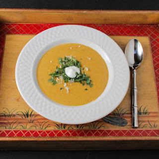 Curried Peanut Soup