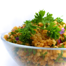 Turkish Couscous Salad Recipe (Kisir)