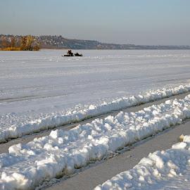 Volga, Russia by Miro Trimay - Landscapes Travel ( russia, winter, wolga, volga, river, country )