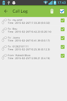 Screenshot of AndroRec Free Call Recorder