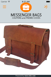 Messenger Bags Coupons - ImIn! - screenshot