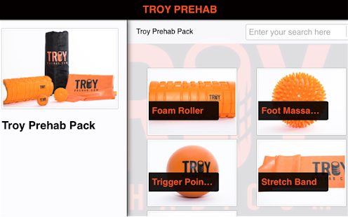 Troy Prehab - screenshot