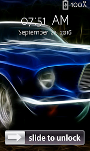 Racing Cars Lock Screen - screenshot