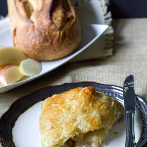 Brown Sugar Apple Baked Brie