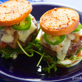 Jalapeno Bacon Sweet Potato Sliders