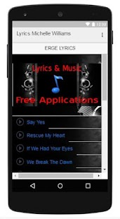 Lyrics Music Michelle Williams - screenshot