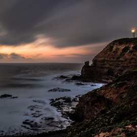 Drama at Cape Schanck by Madhujith Venkatakrishna - Landscapes Travel